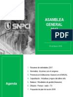 Presentación Asamblea General SNPCI
