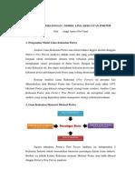 Analisis Persaingan Model Lima Kekuatan Porter ANGGI ANISA