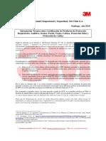 CERTIFICACION FONO 3M PELTOR 105.pdf