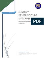 costosydesperdiciosdemateriales-140729192505-phpapp02
