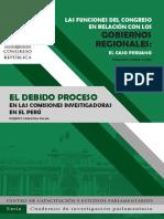 Eldebido proceso. En la comisiones investigadoras en el Perú.