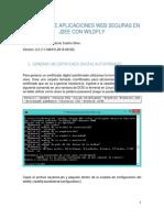 Creacion de Aplicaciones Seguras en J2EE Con Jaas y Wildfly Version 2