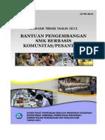 13 Bantuan Pengembangan SMK Berbasis Komunitas-Pesantren