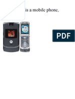 This is a Motorola Phone