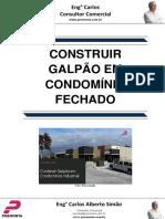 Construir Galpão Em Condomínio Industrial