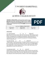 austin college scout