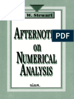 Afternotes on Numerical Analysis