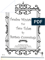 Barton Cummings Miniatures for Two Tubas