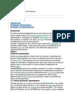Derecho Administrativo Dominicano