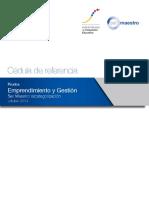 10. Cedula Referencia - Smr2014 - Emprendimiento y Gestion