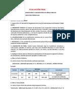 Examen Final Curso Supervision de Obras Publicas