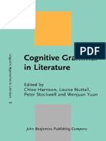 (Linguistic Approaches to Literature) Chloe Harrison, Louise Nuttall, Peter Stockwell, Wenjuan Yuan-Cognitive Grammar in Literature-John Benjamins Publishing Company (2014)