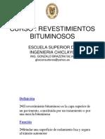 RECUBRIMIRNTOS BITUMINOSOS