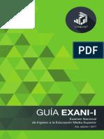 Guía EXANI-I