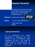 Exp Factoriales