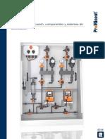 Bombas Sistemas Dosificacion Componentes Catalogo de Productos ProMinent 2018 Folio 1