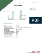 EXAMPLE Nozzle Calculations Using ASME VIII Div 2 Appendix 1-10
