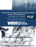 Developing a Strategy for LNG Powered Transport Corridors in The