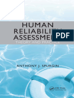 Human Reliability Assessment Theory and Practice_Anthony J. Spurgin