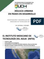 14 Nov - Mañana - 1ra Expo - Hidraulica Urbana en Paises en Desarrollo