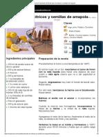 Hoja de Impresión de Bundt Cake de Cítricos y Semillas de Amapola