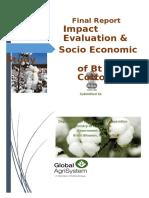 Final Report - BT Cotton