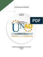 Participación Individual Consolidada (1)