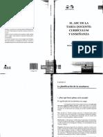 2. El ABC de la tarea docente- Currículum y enseñanza. Cap. 6 - La planificación de la enseñanza.pdf