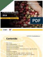 Intención de Voto Para Presidencia 2018 Tercera Medición EcoAnalítica y Guarumo Para El Tiempo y La W