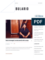 Ruiz Armengol_ La Elocuencia de La Arpa _ Confabulario _ Suplemento Cultural