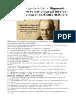 20 citate geniale de la Sigmund Freud care te vor ajuta să înțelegi mai ușor viața și particularitățile ei.doc
