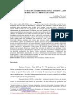 ARTIGO 2017 PRIMUS VITAM Dificuldades No Raciocínio Proporcional Evidenciadas Na Prova Em Fases (André, Nadia)