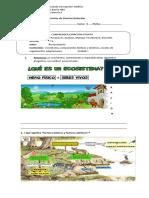 Guía de Ciencias Ecosistema