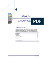 9700 Security Guide