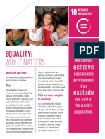 ENGLISH Why It Matters Goal 10 Equality