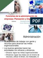 Planeamiento y Organizacion Exposicion 1