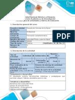 Guía de Actividades y Rúbrica de Evaluación - Paso 3 - Elaborar Magazine Del Plan de Actividad Física