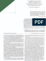 SALOMONE_Consideraciones Sobre La Etica Profesional. Dimension Clinica y Campo Deontologico-juridico. en La Transmision de La Etica. Clinica y Deontologia.