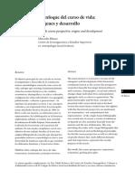 Mercedes Blanco - El Enfoque de Curso de Vida. Orígenes y Desarrollo
