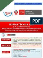 Norma Tecnica 2018