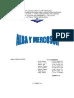 Alba y Mercosur Trabajo Completo