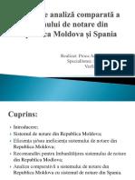 Raport de Analiză Comparată a Sistemului de Notare