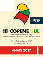 Anais Copene Sul 2017