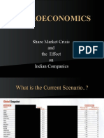 Share Market and It Effects to Indian Co