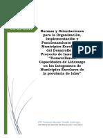 Directiva Del Municipio Escolar