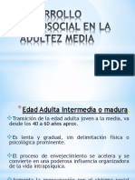 Desarrollo Psicosocial en La AdulteZ MEDIA