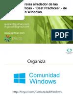SQLSaturday Costa Rica - Best Practice Controversies - Spanish