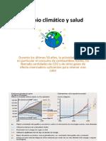Cambio Climático y Salud