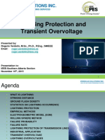 Lightning Protection and Transient Overvoltage Rogerio Verdolin