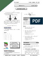 II BIM - 4to. Año - ALG - Guía 3 - Factorización (Reparado)